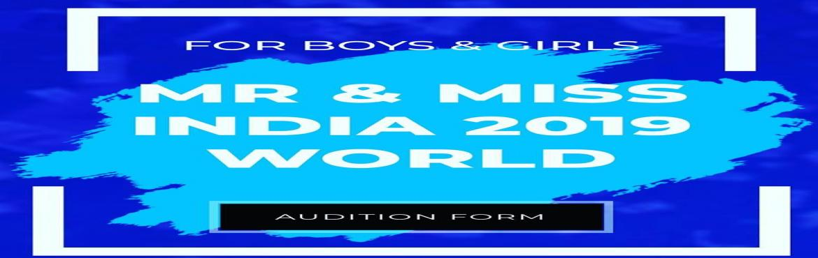 Book Online Tickets for Mr and Miss India 2019 registrations , New Delhi. Mr & Miss India 2019 Registrations open......Apply now!!!! Mr & Miss India 2019 world presents by Skywalk Productions. This is biggest platform to all young generation who want start their journey in modleing and acting industry. Skywal