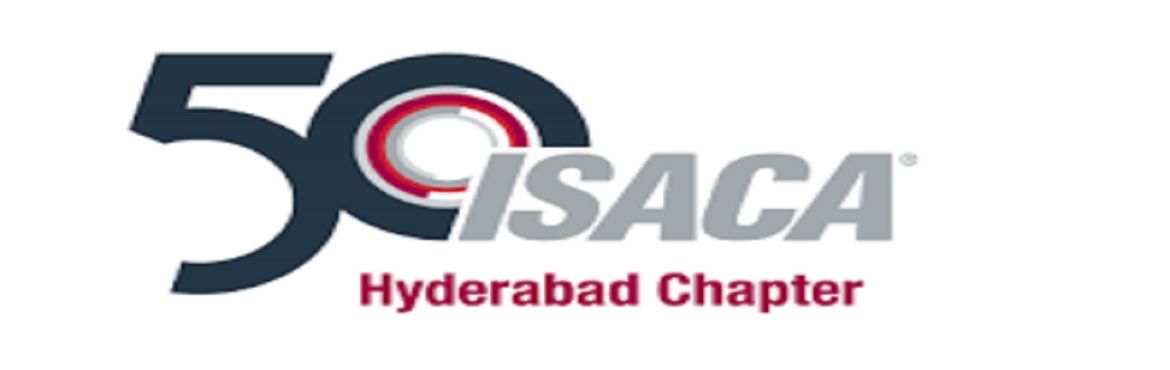 Book Online Tickets for 2019 ISACA Hyderabad Chapter Annual Conf, Hyderabad.      Participants can get 8 CPE\'s for attending the conference.   For more information and BULK booking of tickets please reach out to contact@isacahyderabad.org