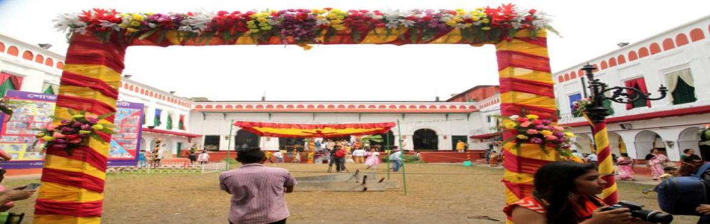Book Online Tickets for Kolkata Bonedi Barir Durga Puja Parikram, Kolkata. We are organizing package tours \