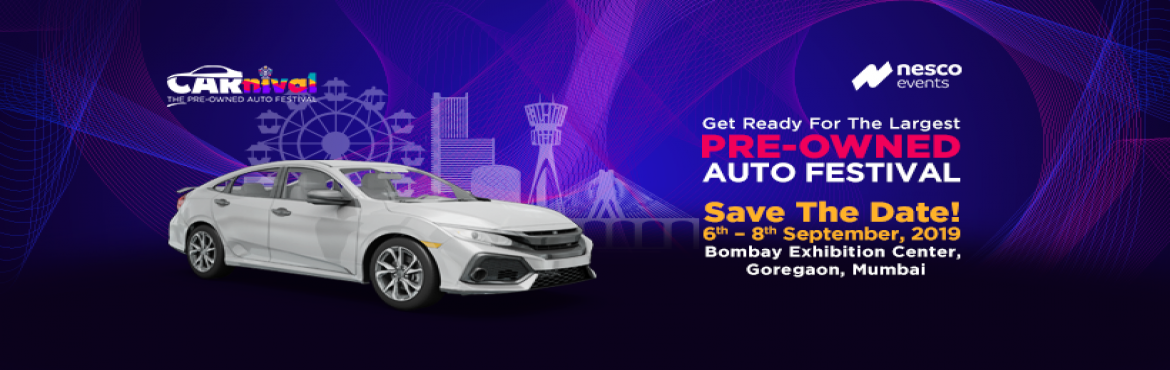 Book Online Tickets for CARnival 2019 , Mumbai.  CARnival 2019 offers all products and services related to Pre-Owned cars under one roof, along with various activities such as super-car and vintage car galleries, technical workshops, performances & shows, kids\' zone, and food & beer