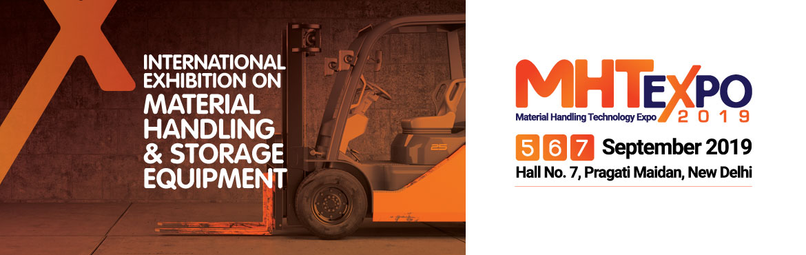 Book Online Tickets for MHT Expo 2019, New Delhi. Material Handling Technology Expo 2019 is Jam-Packed with Opportunities for Exhibitors to Conduct Business on Global, Regional & Local Scales. Our exhibitors will be benefited by exhibiting in Material Handling Technology Expo 2019 in the followi