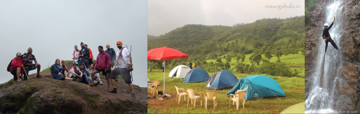 Book Online Tickets for Trek to Torna fort n Camping @ nisargsha, Pune. When rain showers happiness ,  when there is mist everywhere, when mountain peaks play hide n seek, when the pathway challenges you,when there is lush green view wherever u see,when you literally touch clouds,when u live the glory of t