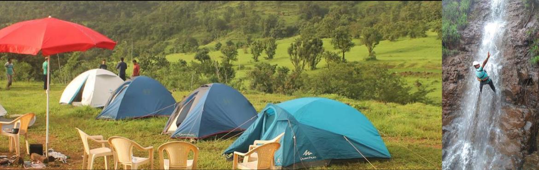 Book Online Tickets for Weekend camping getaway @ nisargshala, Pune. A perfectweekendgetawayforMonsoonamidstmountains,valleys,riversandridgesnearPune,adornedwith lush greenhillocks,grasslands,astonishingwaterfal