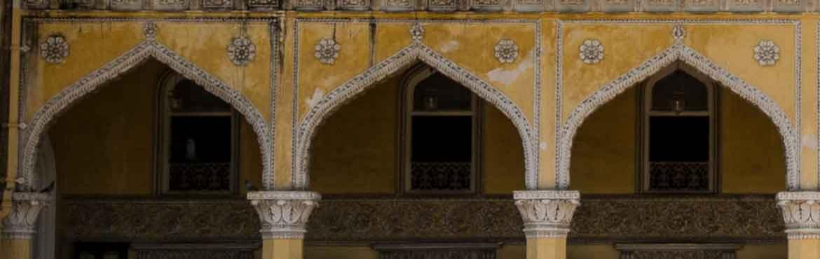 Book Online Tickets for A Story-Walk at Chowmahalla Palace, Hyderabad. Join uson a storytelling walk around Chowmahalla Palace, one of Hyderabad\'s best preserved heritage sites. We will walk through the exhibits of the Palace, now a museum, and talk about the Nizams of Hyderabad, their lives and times. Tickets in