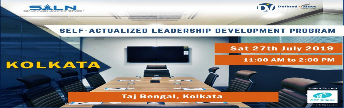 Book Online Tickets for Self-Actualized Leadership Development W, Kolkata.   About the Workshop   Self-Actualization is a state of self-awareness from where a person can take highly effective decisions and becomes a visionary thinker. At a Self-Actualized state of mind, a person\'s observations reach very clo