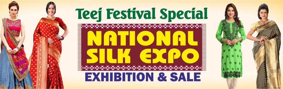 Book Online Tickets for National Silk Expo, Gurugram. Looking for some ethnic Indian weaves on this Teej Festival with discount upto 50% on this Teej Festival? Just walk into the 'National Silk Expo', which is going to be organised at The Bristol Hotel, DLF Phase - 1, in the city. Be it the