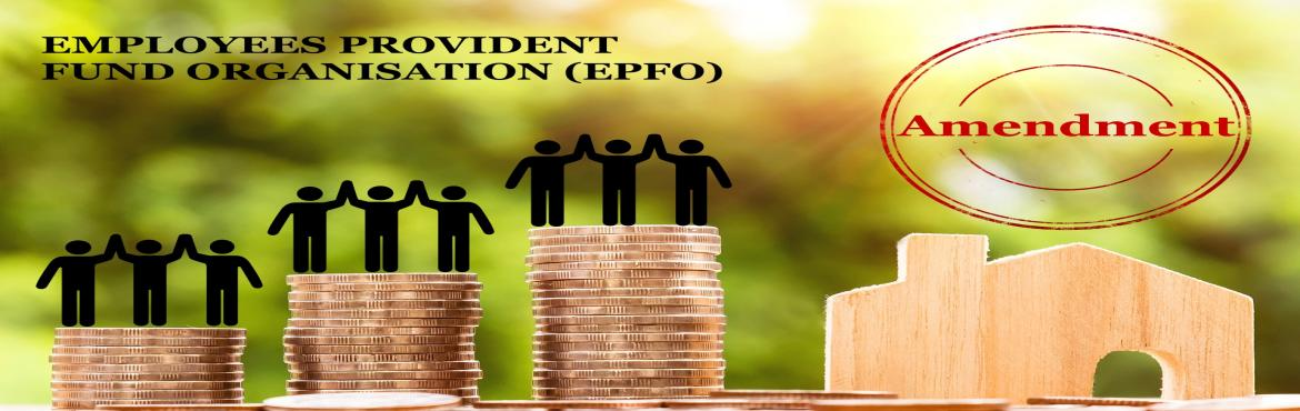 Book Online Tickets for  Learn about new SC ruling on Provident , Mumbai. Workshop on Provident Fund recent SC ruling On 9th August 2019 from 6pm to 8pm at Somaiya, Vidyavihar Contents  What you need to know:- Whether the employeesgetting above Rs.15, 000 in basic wages will be affected? Can minimum wages