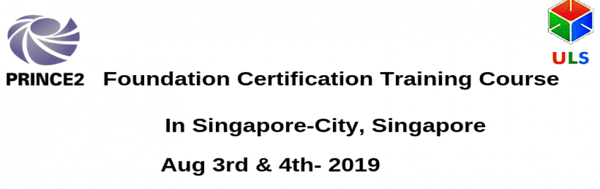 Book Online Tickets for PRINCE2 Foundation Certification Trainin, Singapore. Ulearn System\'s Offer PRINCE2 Foundation Certification Training Course Singapore-City, Singapore. PRINCE2 Foundation course will demonstrate fundamental understanding of PRINCE2 concepts in a project-based environments. PRINCE2 is the most widely-ad