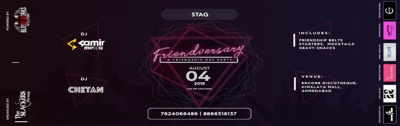 Friendversary - A Friendship Day Party - Ahmedabad | MeraEvents com
