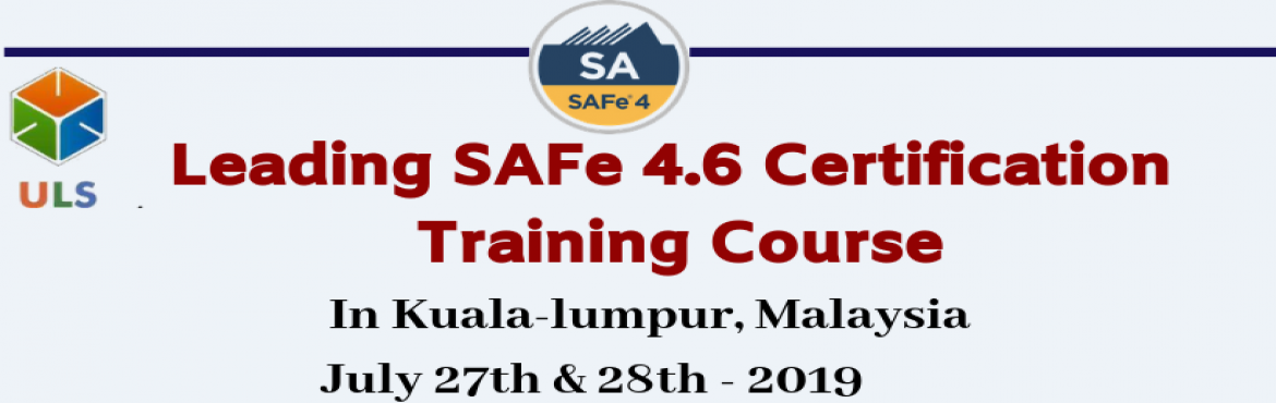 Book Online Tickets for Leading SAFe 4.6 Certification Training , Kuala Tere. Ulearn System's Offer SAFe Agilist 4.6 Certification Training Course Kuala-Lumpur, Malaysia, Best Leading SAFe Agile Training Institute in Kuala-Lumpur, Malaysia Enroll for Classroom SAFe Agilist 4.6 Certification Training in Kuala-Lumpur, Mala