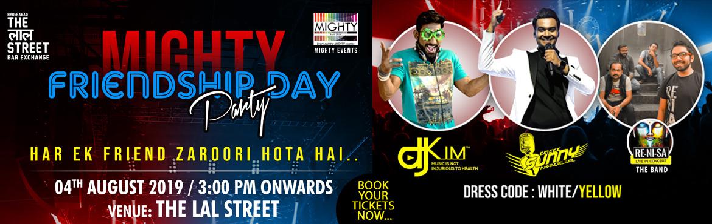 Book Online Tickets for FRIENDSHIP DAY PARTY, Hyderabad. _*Har Ek Friend Zaruri Hota Hai...
