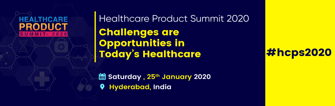 Book Online Tickets for Healthcare Product Summit 2020, Hyderabad. Healthcare Product Summit-2020: We welcome the global healthcare ecosystem to collaborate and witness probably the only and most exciting Healthcare Innovation Summit with the dawn of New Year 2020. The theme for Healthcare Product Summit-2020 is &ld