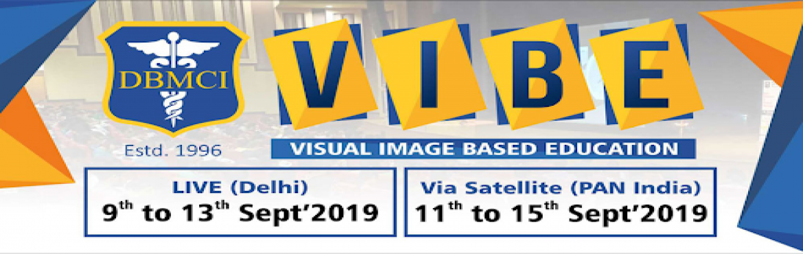 Book Online Tickets for VIBE 2019, Delhi. A visual question treats which enables the students to learn more about the latest visual questions and patterns for AIIMS-PG/ NEET-PG/ PGI. It will enhance your ability to manage time and attempt an image-based question swiftly. Session by pre