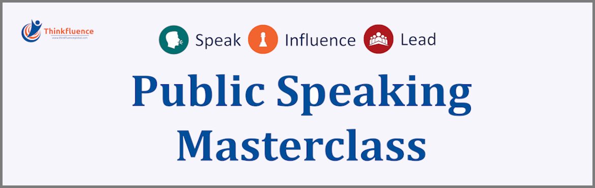 Book Online Tickets for Public Speaking Masterclass - 10th and 1, Coimbatore.    Public speaking is the number one tool of leadership. When you get a group of people in a room to hear the same message at the same time with the same intensity you have the greatest chance of inspiring them and moving them to action. Are yo