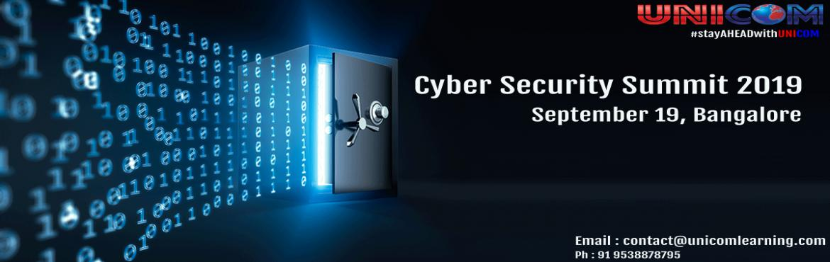 Book Online Tickets for Cyber Security Summit 2019 - Bangalore, Bengaluru.   With evolving Cyber-attacks and continuous development new malware variants each day, business should make sure their endpoints are secure by employing the right security controls as defined by Centre for Internet Security. The Cyber Security