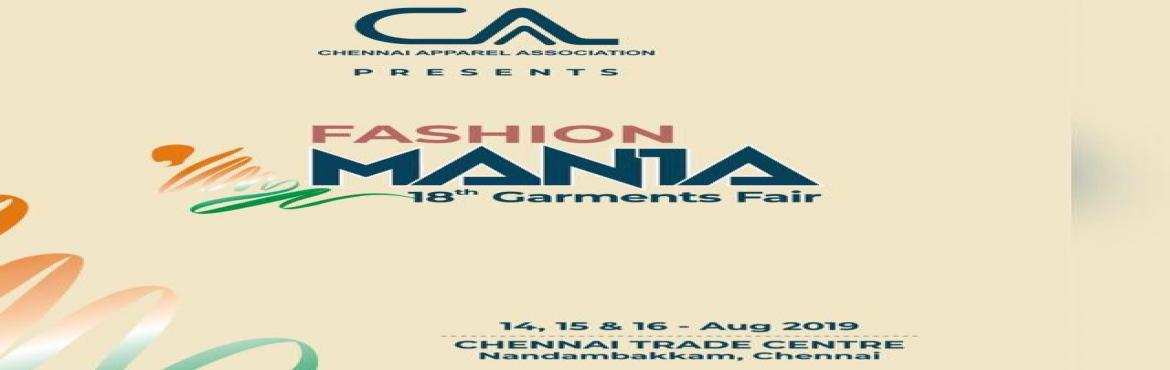 Book Online Tickets for CAA-Fashion Mania 2019, Chennai.  CAA has always set high standards for itself during all the airs and this being a bigger event we are working hard to make this a grand success with all your wishes and support. Herewith we invite you to participate in this mega event and avail