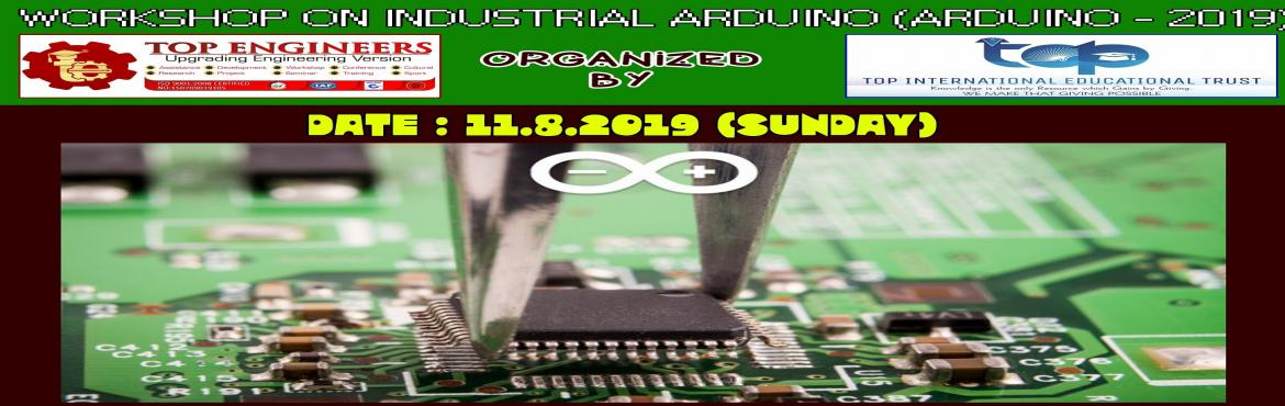 Book Online Tickets for INDUSTRIAL ARDUINO WORKSHOP (ARDUINO - 2, Chennai.     AGENDA   INDUSTRIAL COMPONENT SEGREGATION USING ARDUINO SEGREGATING VARIOUS COMPONENTS BASED ON THEIR COLOUR AND SIZE USING COLOUR SENSOR PROXIMITY SENSORS AND ARDUINO      Workshop Terms and Conditions: * This Workshop is strictly for STUD