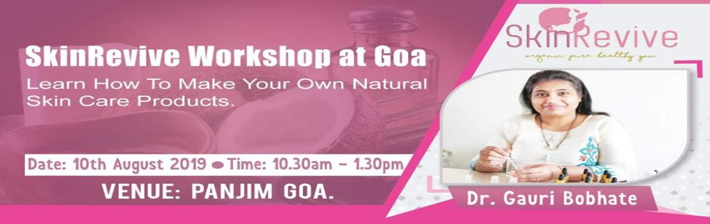 Book Online Tickets for Organic skincare masterclass in Goa , Panjim.