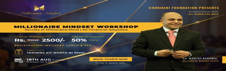 Book Online Tickets for Millionaire Mindset, Kolkata. \