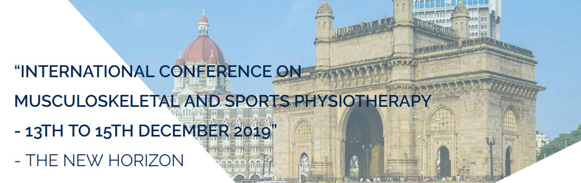 Book Online Tickets for Physio for India, Mumbai. Asia\'s largest physiotherapy conference would discuss two specific topics: Musculoskeletal and Sports Physiotherapy Presented by Toby hall, Jeremy Lewis and many more reputed scientists and physiotherapists from around the world A chance to get live