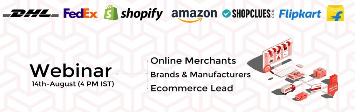 Book Online Tickets for Online Startups with Adam | Amazon | Fli, Hyderabad.  About Event: Webinar for Online sellers.  Topic: Multichannel listing & order management Leadership: Multichannel Selling Experts    Start Your Online Business with the support of experts and Join online Selling ecosystem. &n