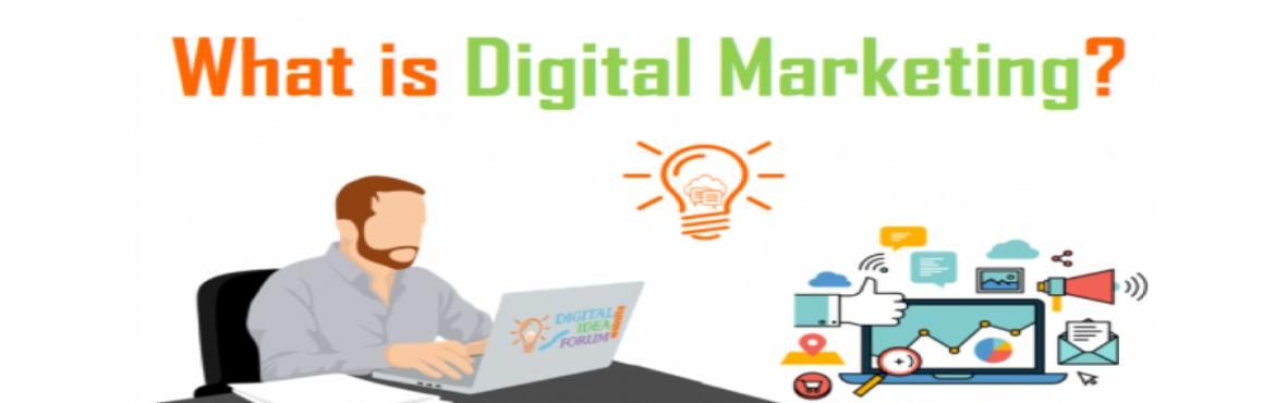 """Book Online Tickets for What is Digital Marketing?, Mumbai. What is Digital Marketing?  Most trending sector now a days """"Digital Marketing""""  And People believe it all Starts with cheap Facebook ads and lasts on budget Google adwords..  Big Sorry I'm going to upset a lot of"""