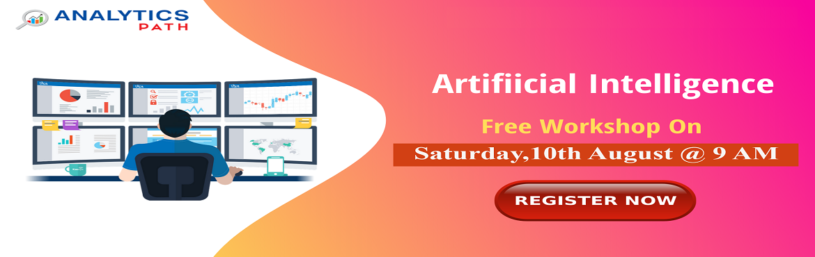 Book Online Tickets for Register For AI Free Workshop-Sneak-Prev, Hyderabad. Register For AI Free Workshop-Sneak-Preview To Career In AI By IIM & IIT Experts At Analytics Path on 10th August, 9 AM, Hyderabad. About The Workshop: Over the years, the technology of Artificial Intelligence has come across a long way from mere