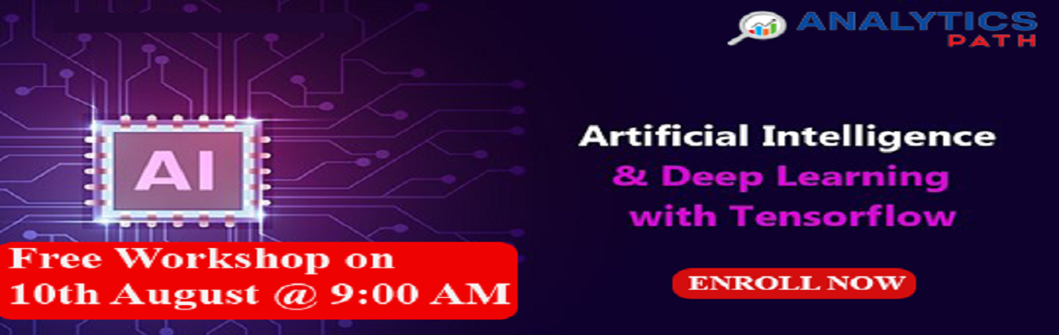 Book Online Tickets for Register For Free Workshop On AI To inte, Hyderabad. Register For Free Workshop On AI To interact With Analytics Experts From IIT & IIM, By Analytics Path On 10th Aug, 9 AM, Hyd About The Event- Get the chance to interact with the Artificial Intelligence industry experts from IIT & IIM backgrou