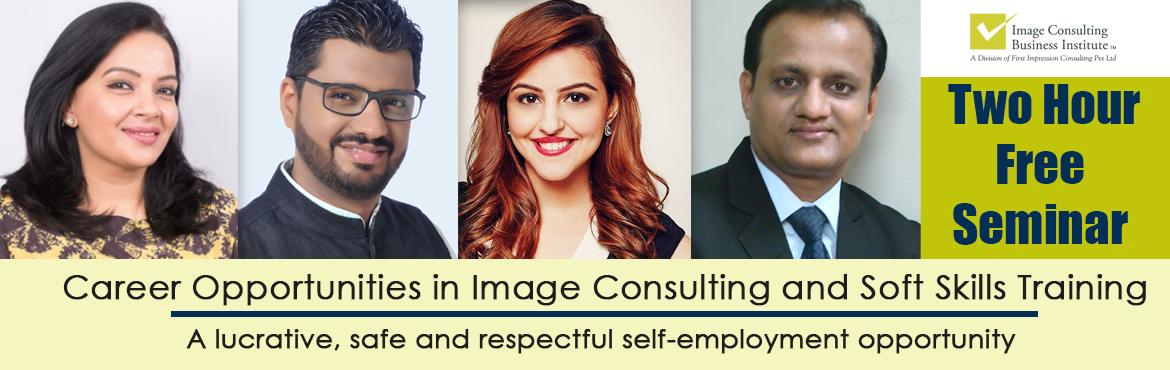 Book Online Tickets for ICBI Seminar on Career Opportunities in , New Delhi. You could be a working professional, on sabbatical, homemaker or a student desiring to start something of your own. If have a sense of style & aesthetics, passion for training and helping people change their lives then this is the opportunity for