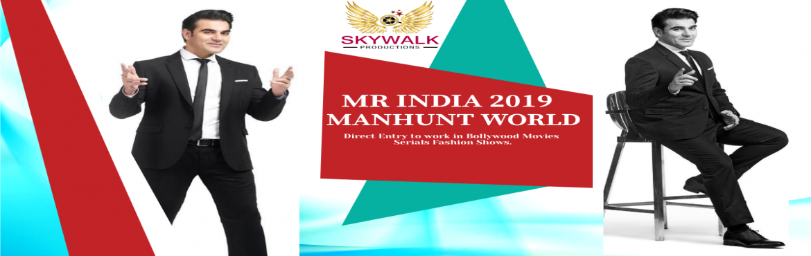 Book Online Tickets for Mr India 2019 Audition DATE, New Delhi.  Mr India 2019 Audition DATE Do you want to become Asia\'s Next rising star Model and Actor? If so, Great opportunity for all young generation who have a passion to enter in Bollywood. India\'s top modeling and Acting company Skywalk Productions
