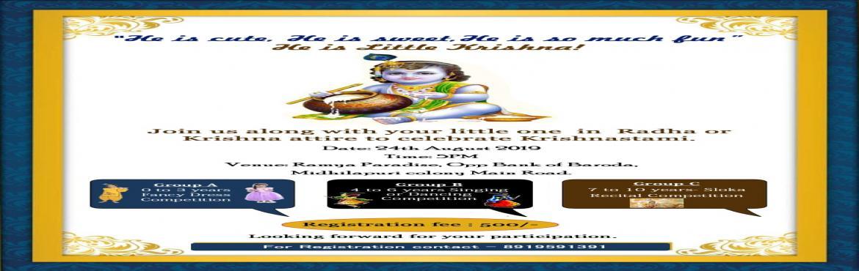 Book Online Tickets for Krishnastami celebration(Fancy Dress), Visakhapat.