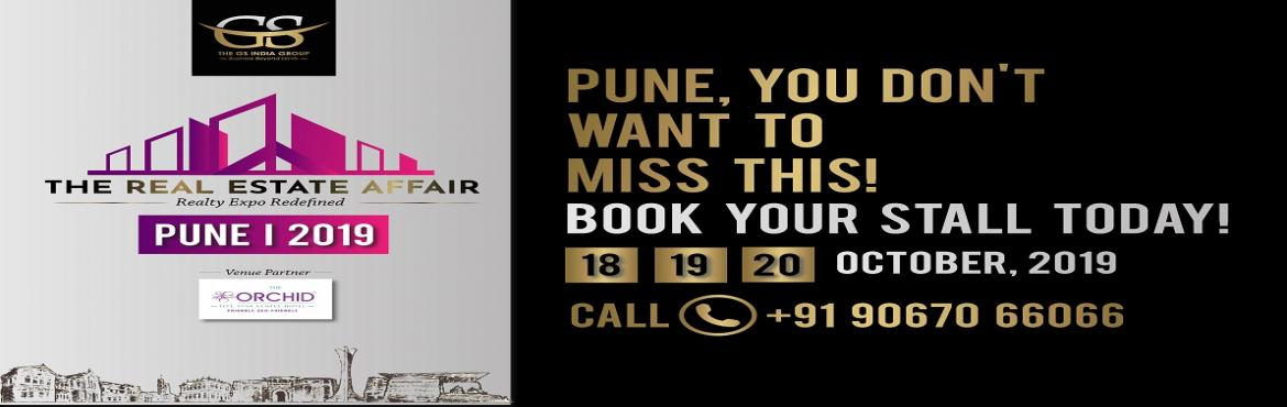 Book Online Tickets for The Real Estate Affair, Pune. The Real Estate Affair is set to be Pune's biggest investment, development and commercial property exhibition and is taking place from the 18th– 20thOctober 2019 at The Orchid, Balewadi, Pune.  Highlights:  Expected to a