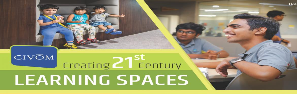 Book Online Tickets for Convention on Creating 21st Century Lear, Hyderabad.  21st Century Learning needs 21st Century Learning Spaces Explore WHAT, HOW & WHY it is required to transform your learning spaces into a next-generation one. The Convention will have Workshops, Seminars, Panel Discussions, Open House to brainsto