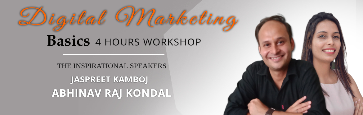 Book Online Tickets for Digital Marketing Basics 4 hours Worksho, New Delhi. Success with AmelCSThe World is Going Digital, so should you!Digital Marketing Basics 4hours Workshop at 699/-A Must-Attend Workshop for Your GrowthDate & Time: 25th August 2019, Sunday   9:30 AM - 1:30 PMVenue: eTribe Coworking, 13-A
