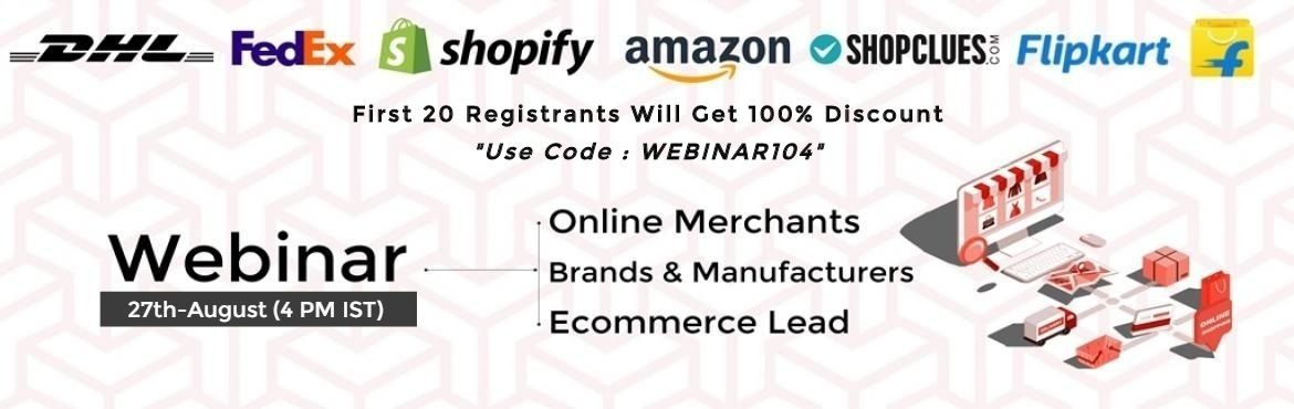 Start Your Online Business with the support of experts and Join online Selling ecosystem.   Learn How to do;  Product listings  Order Management  Inve