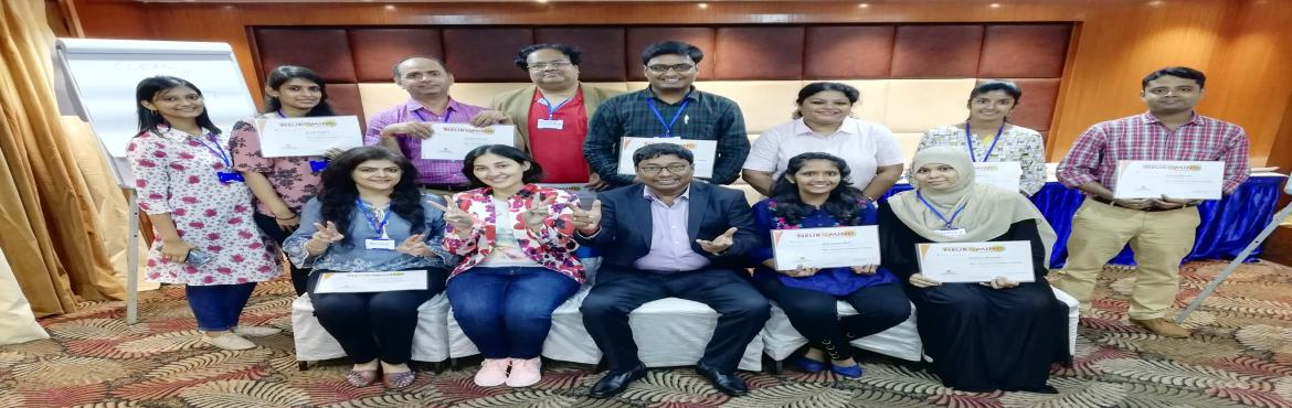 Book Online Tickets for NLP+ Lifestyle Practitioner Certificatio, Kolkata. WORKSHOP DETAILS   \'NLP+ LIFESTYLE PRACTITIONER CERTIFICATION WORKSHOP\'  LANGUAGE OF THE WORKSHOP  PRIMARY ENGLISH  DATE & TIME  Sep 21, 2019 (Saturday) to Sep 27, 2019 (Friday) 0930 - 1730 daily  VENUE