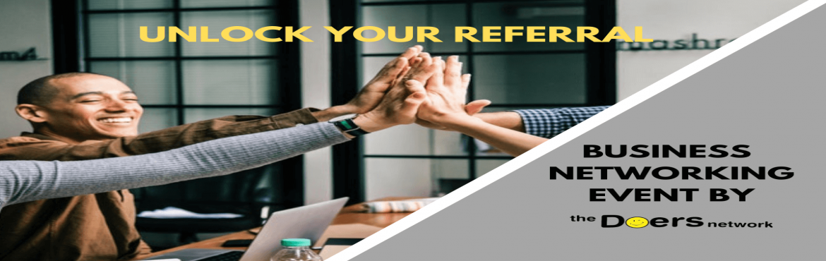 Book Online Tickets for Unlock Your Referral, Mumbai. The first thing that prevents us from building a strategic network is our mindset that networking is self-serving. And when we believe that any attempt to establish relationships is only for our benefit, we are less inclined to pursue these conversat