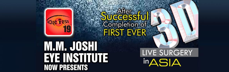 Book Online Tickets for 3D LIVE 2.0, Hubli Dhar. M.M Joshi Eye Institute Now Presents 3D2.0 LIVE Surgeries.