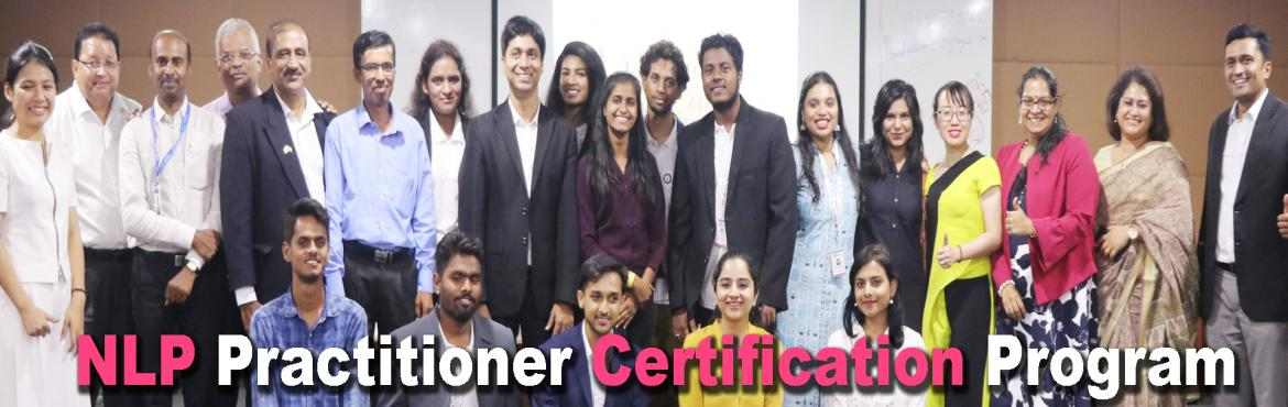 Book Online Tickets for  NLP Practitioner courses in Singapore, Singapore. Welcome to one of the most comprehensive NLP Practitioner courses in Singapore and get internationally certified from ECNLP - European community of NLP. Its a 4-days power-packed workshop lead by International Coach and NLP expert - Kaushik Mahapatra