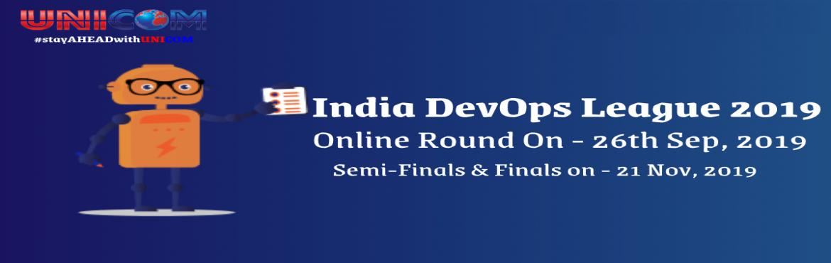 Book Online Tickets for India DevOps League 2019, Bengaluru.  The 6th edition of the annual corporate quiz contest on DevOps is back!! Purpose of this contest is to identify India\'s most knowledgeable DevOps Specialist. This is your chance to shine and win the Best DevOps Specialist Team Award! India De