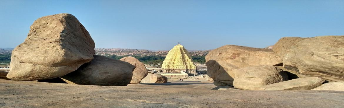 Book Online Tickets for Hampi: Rediscover Yourself, Hampi. Hampi, recognized as a World Heritage Site by UNESCO, will take you back in the ancient times by its magnificent architecture and the natural beauty around it .Situated at the beautiful bank of river Tungabhadra, Hampi has many historical temples and