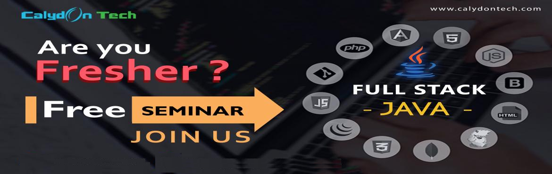 Book Online Tickets for Free Seminar on Full Stack Java Developm, Chennai. Free Seminar - Full stack Java Development for freshers Date : 31 Aug 2019 Time : 11am - 12pm Venue : # 364 & 365 - Vaibogh , 5th Link Street,       Nehru Nagar, OMR Perungudi,Chennai - 600 096, Ind