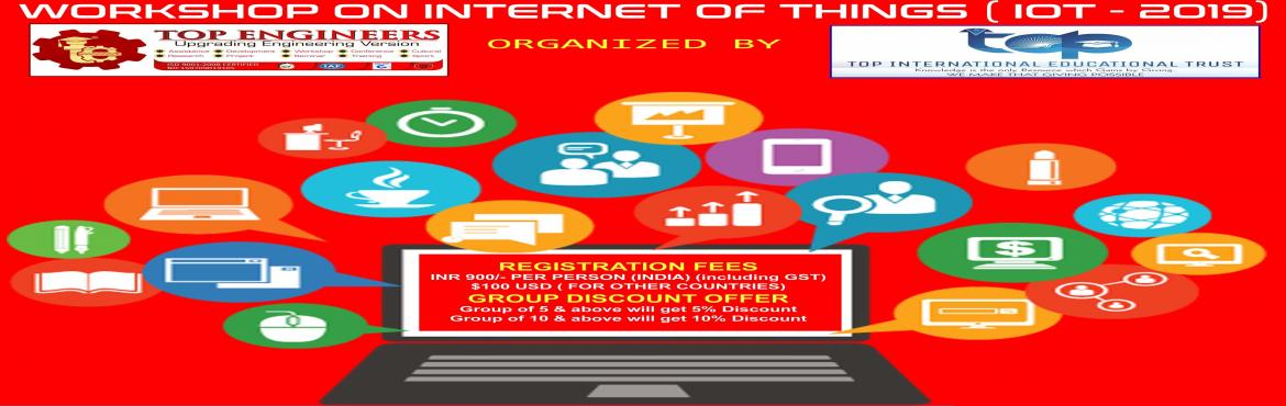 Book Online Tickets for WORKSHOP ON INTERNET OF THINGS ( IOT - 2, Chennai.     AGENDA   INTRODUCTION TO IOT INTRODUCTION TO NODE MCU INTODUCTION TO THINGS SPEAK AND IFTTT READING SENSORS DATA AND DISPLAYING IN THINGS SPEAK IFTTT CONFIGURATION SENDING EMAIL/ SMS USING THE CASE CONDITION      Workshop Terms and Conditio