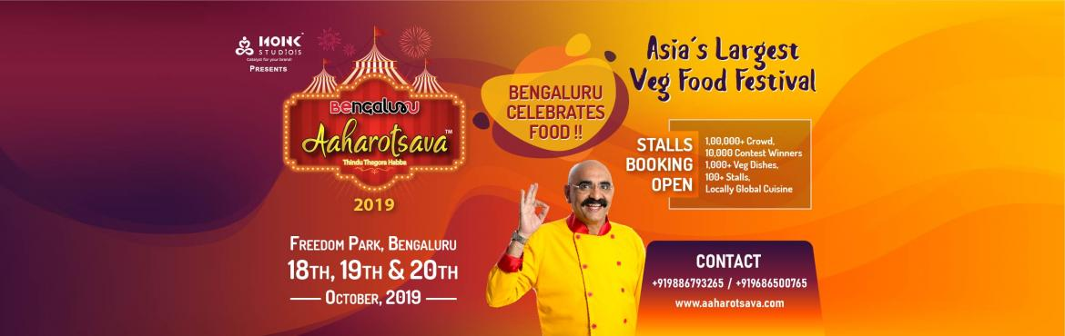 Book Online Tickets for Bengaluru Aaharotsava , Bengaluru.         Bengaluru is the house of global cuisine, We love to eat Masala Dose to Enchiladas anything and everything that one can offer. Bengalureans are spoilt by choices when it comes what to eat? The cosmopolitan culture of Bengaluru changed th