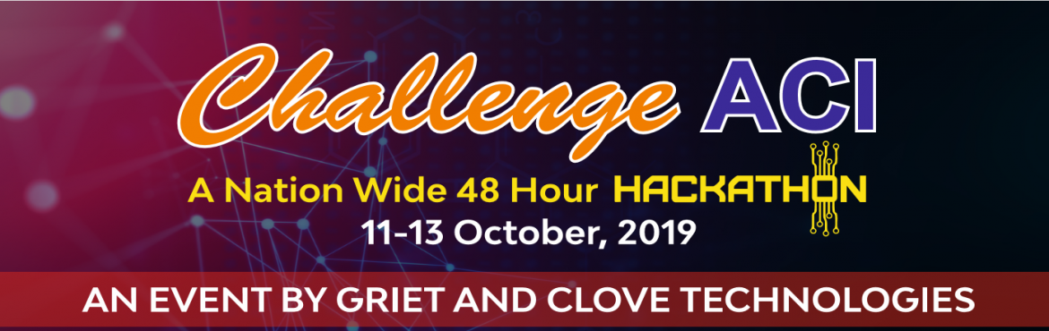 Book Online Tickets for Challenge ACI, Hyderabad.    Gokaraju Rangaraju Institute of Engineering & Technology (GRIET) is one of the premier engineering colleges in Telangana state with strong emphasis on providing quality engineering education. A constant endeavor at GRIET, is to make the studen