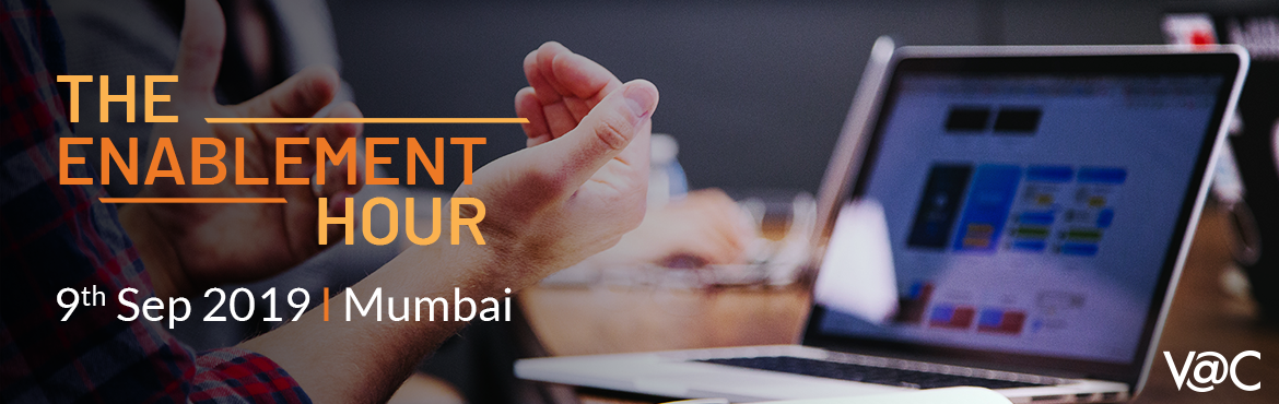 Book Online Tickets for Enablement Hour - Mumbai, Mumbai. Are you a budding entrepreneur? Then this is for you! Calling all entrepreneurs to book their slot for a dedicated, one-on-one brainstorming session with our Startup Enabler from Viridian Accelerator Centre. The Startup Enabler will guide entrepreneu