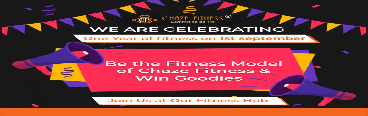 Book Online Tickets for Gym Challenges Event - Chaze Fitness, Noida. Be the Fitness Model of Chaze Fitness & Win the Exciting Prizes.  Chaze Fitness is a premium fitness center in Sector 104 Noida, incorporated with the vision to encourage and assist people to pursue a sustainably fit and healthier lifes