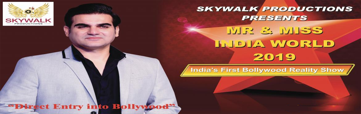 Book Online Tickets for Mr Miss India 2019 Audition DATE , New Delhi.  Mr & Miss India 2019 World Audition DATE Biggest Modeling & Acting Contest Mr & Miss India 2019 World is upcoming show of India\'s best Movie productions and casting company Skywalk Productions.  Skywalk productions gives you a