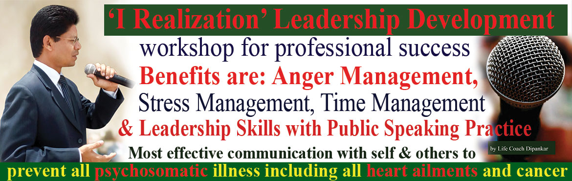 Book Online Tickets for Stress Management and Leadership Develop, Hyderabad. Stress Management and Leadership Development workshop for professional success by leading self to the right direction, right action and right communication with self and others. If you can aligned your thoughts, actions and communication towards your