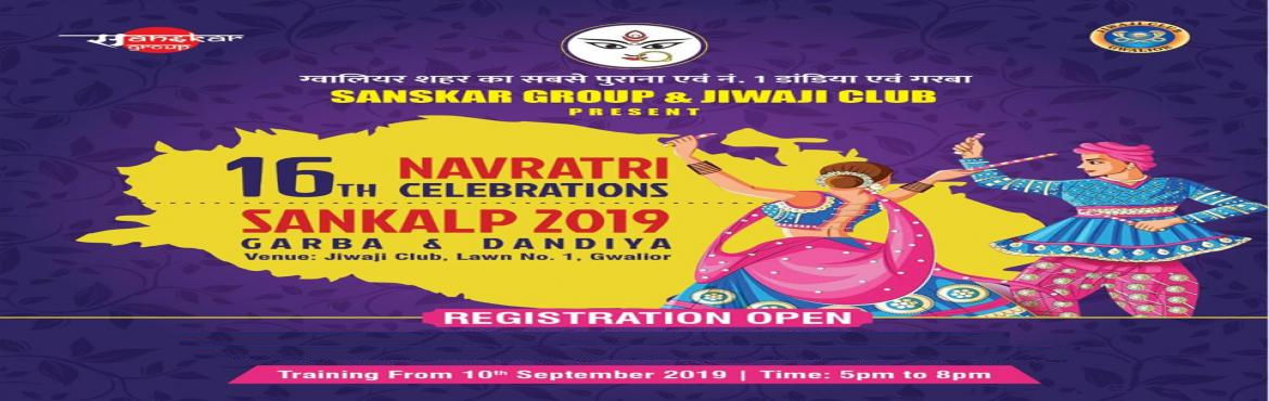 Book Online Tickets for Sankalp Garba and Dandiya Utsav 2k19 , Gwalior. Dandiya fest 2019-20Are you looking for the best Dandiya Event this season during Navratri, Sanskar group's Sankalp Garba and Dandiya Utsav 2k19 bringing the awesome Dandiya Night of the Gwalior! Get ready to groove on the Dandiya Music this Na